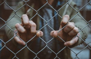 jail - emotional stress and pain